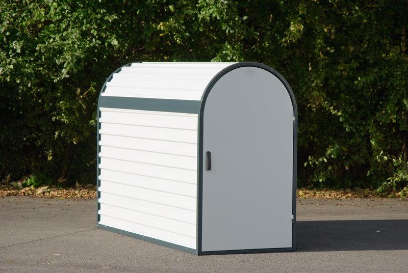 fahrradgarage bikebox 3 wasimax displays. Black Bedroom Furniture Sets. Home Design Ideas