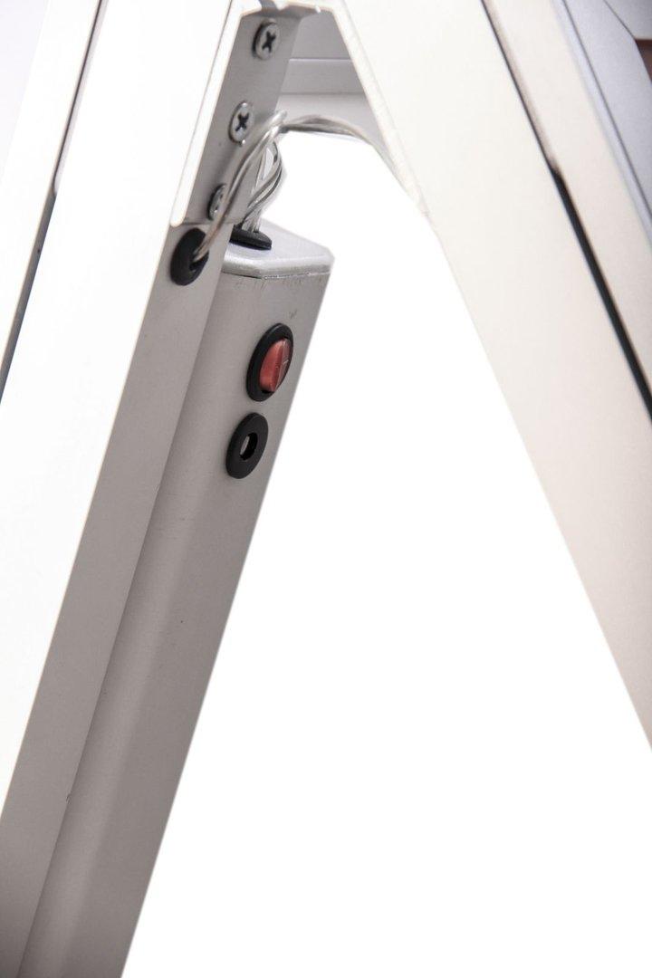 a1 led kundenstopper ohne kabel alt. Black Bedroom Furniture Sets. Home Design Ideas